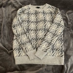 Theory houndstooth sweater